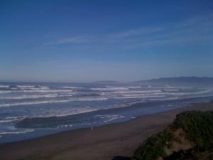 Moooomm! The Pacific Ocean is so boring! Do we have to go agiiiin?