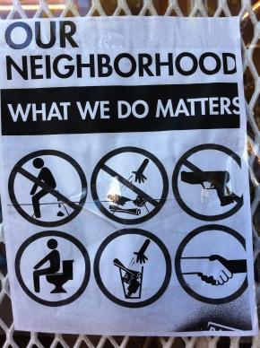 Neighborhood pride at its finest.